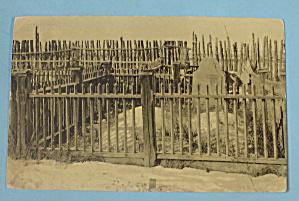 Kit Carson's Grave Postcard (Taos, N M.) (Image1)