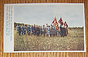 The Official Group Attending The Mass Postcard