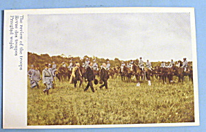 The Review Of The Troops Postcard (Polish Army)