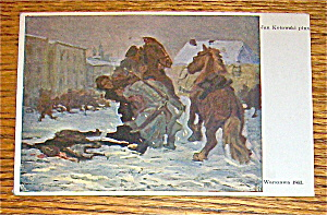 Warszawa 1863 by Jan Kotowski (Postcard) (Image1)