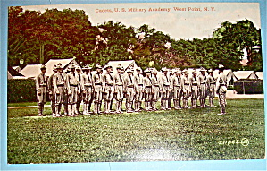 Cadets, U.S Military Academy Postcard-West Point, N.Y (Image1)