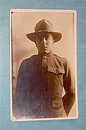 Military Man Dressed In Uniform Postcard (Image1)