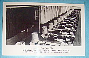 U.S. Naval Training Station Postcard (Great Lakes Ill.) (Image1)