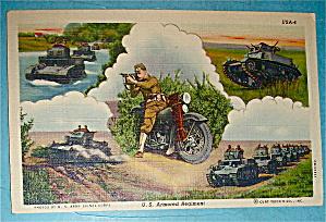 U.S. Armored Regiment Postcard (Image1)