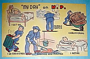 My Day On K. P. Postcard (Image1)
