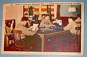 Battalion Recreation Room Postcard (Image1)