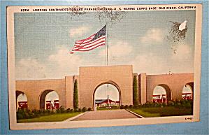 Looking Southwest Toward Parade Ground Postcard (Image1)