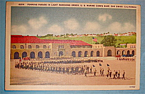 Forming Parade In Light Marching Order Postcard (Image1)