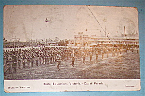 State Education, Victoria-Cadet Parade Postcard (Image1)