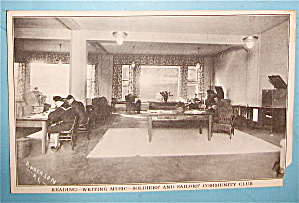 Soldiers & Sailors' Community Club Postcard (Image1)