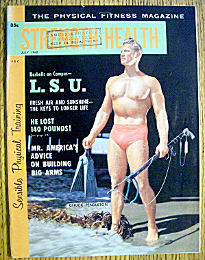 Strength & Health Magazine-july 1960-charles Pendleton