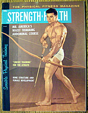 Strength & Health Magazine-february 1961-joe Juzwik