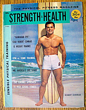Strength & Health Magazine-october 1962-robert Conrad