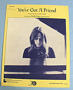 1971 You've Got A Friend By Carole King