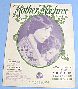 1910 Mother Machree Featuring Belle Bennett