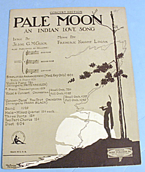 1920 Pale Moon Cindian Love Song Cover By Van D. Morgan
