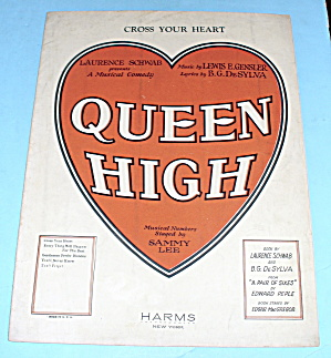 1926 Queen High By Sammy Lee