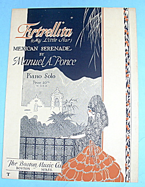 1928 Estrellita (My Little Star) Mexican Serenade