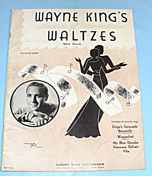 1934 Wayne King's Collection Of Waltzes