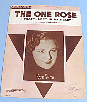 1936 The One Rose That's Left In My Heart - Kate Smith