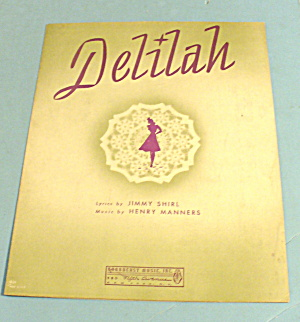 1941 Delilah By Jimmy Shirl And Henry Manners