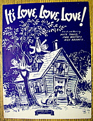 1943 It's Love, Love, Love By Mack David