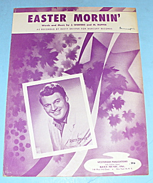 1954 Easter Morning Featuring Rusty Draper