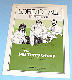 1976 Lord Of All By Pat Terry