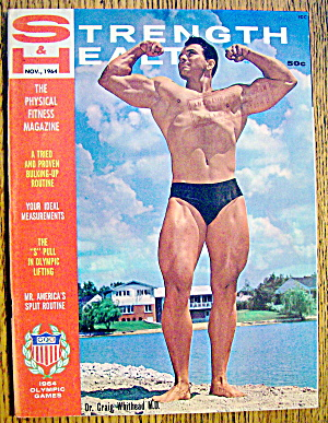 Strength & Health Magazine-november 1964-craig Whithead