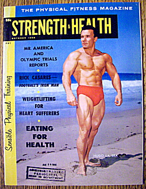 Strength & Health Magazine-october 1960-hugo La Bra