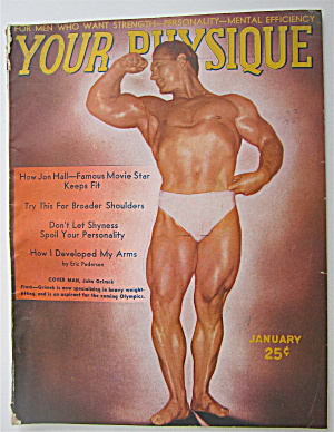 Your Physique Magazine-january 1948-john Grimek