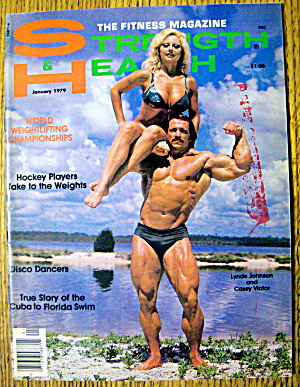 Strength & Health Magazine-january 1979-casey Viator