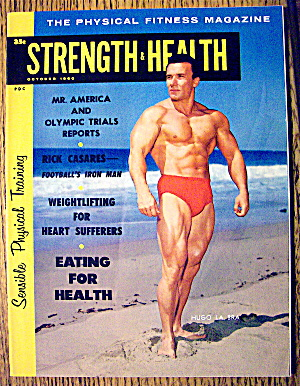 Strength & Health Magazine-hugo La Bra-october 1960