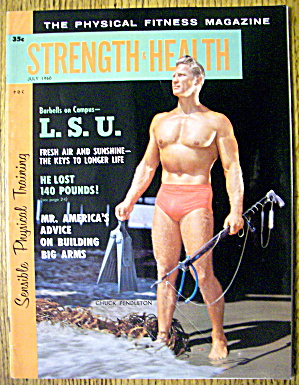 Strength & Health Magazine-chuck Pendleton-july 1960