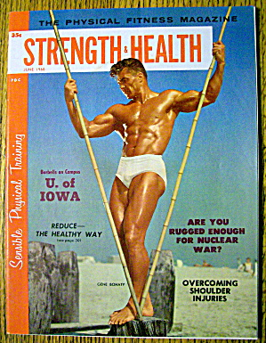 Strength & Health Magazine-gene Bohaty-june 1960