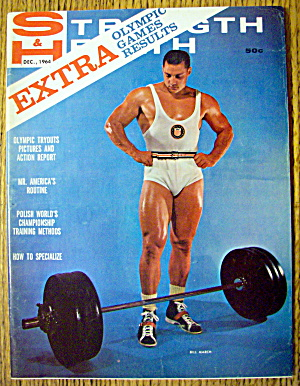 Strength & Health Magazine-bill March-december 1964