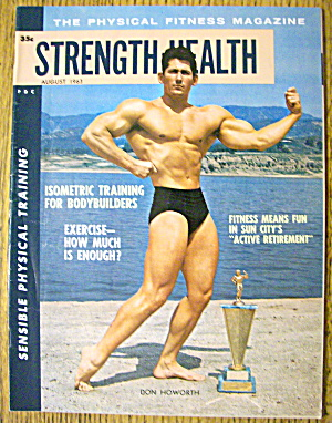Strength & Health Magazine-don Howorth-august 1963