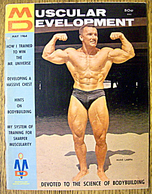 Muscular Development Magazine-may 1964-hugo La Bra