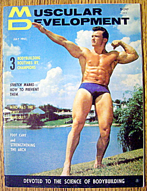 Muscular Development Magazine-july 1965-bill St John