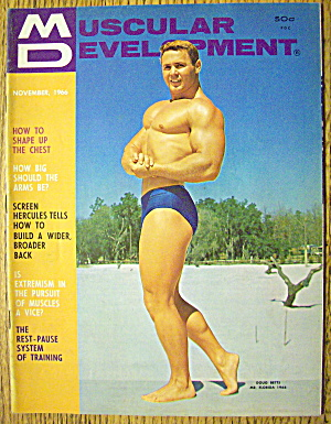 Muscular Development Magazine-november 1966-doug Betts