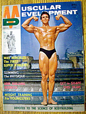 Muscular Development-february 1968-peter Caputo