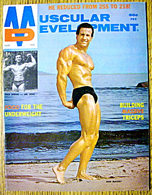 Muscular Development-june 1968-dan Mackey