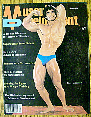 Muscular Development-june 1979-rory Leidelmeyer