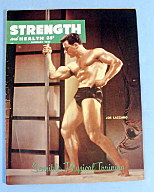 Strength & Health Magazine, October 1957 - Joe Lazzaro