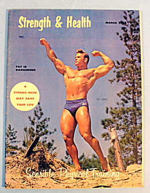 Strength & Health Magazine, March 1958 - Vic Siepke