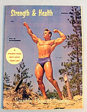 Strength & Health Magazine, March 1958 - Vic Siepke (Image1)