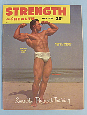 Strength & Health Magazine, April 1958 - John Farbotnik