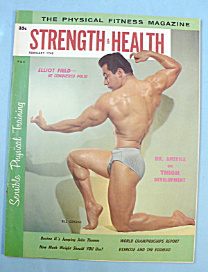 Strength & Health Magazine, February 1960 - Bill Cerdas