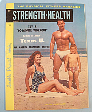 Strength & Health Magazine, January 1960 - Earl Clark