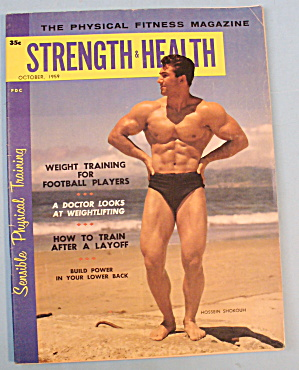 Strength & Health Magazine-october 1959-hossein Shokouh